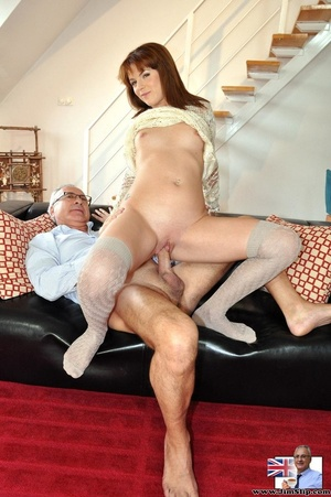 Hot sexual action as horny red hair knee - XXX Dessert - Picture 9