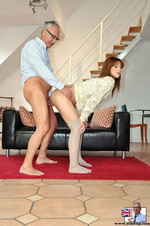Hot sexual action as horny red hair knee - XXX Dessert - Picture 14