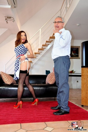 Red hair cute chick loves to have fun su - XXX Dessert - Picture 1