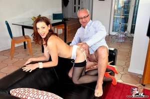 Red hair cute chick loves to have fun su - XXX Dessert - Picture 3