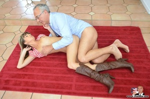 Young sexy slut in high boots takes big  - XXX Dessert - Picture 14