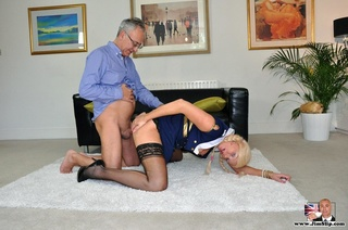 sexy captain blonde loves