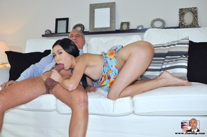 Cute naughty Asian gives Jim a swell tim - XXX Dessert - Picture 4