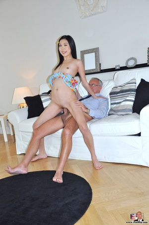 Cute naughty Asian gives Jim a swell tim - XXX Dessert - Picture 8
