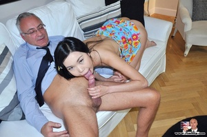 Cute naughty Asian gives Jim a swell tim - XXX Dessert - Picture 14