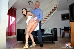Young and sexy chick gets down with Jim  - XXX Dessert - Picture 10