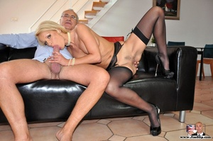 Cock loving blonde give Jim's hard cock  - XXX Dessert - Picture 2
