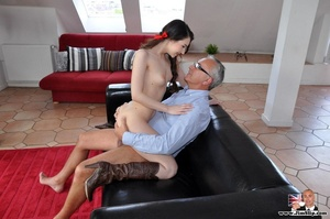 Young cute babe strips off to ride Jim's - XXX Dessert - Picture 9