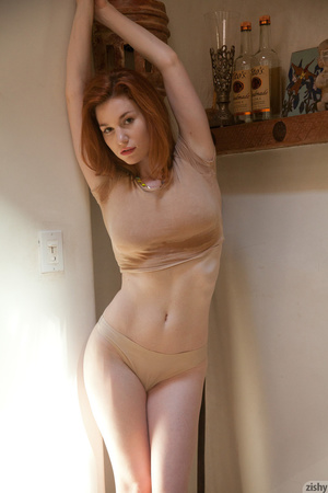 Huge-titted ginger beauty Emily adores e - XXX Dessert - Picture 6
