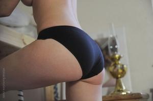 Alluring brunette seduces by taking off  - XXX Dessert - Picture 10