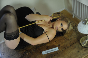 Blonde deputy headministress gets distra - XXX Dessert - Picture 8