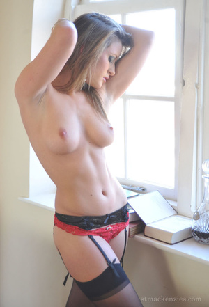 Very naughty blonde trashes headministre - XXX Dessert - Picture 11