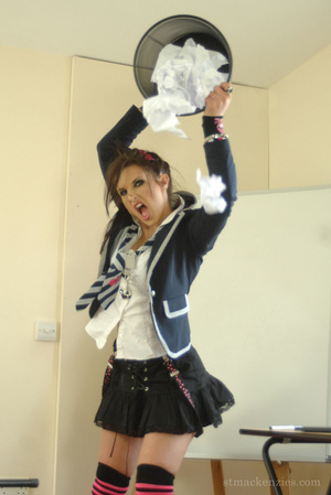 Unruly coed breaks into another school's - XXX Dessert - Picture 6