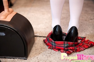 Nerdy preggy teen goes kinky with her st - XXX Dessert - Picture 10