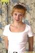 playful blonde teen gets