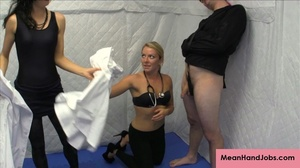 Two lusty bitches subdue a patient in a  - XXX Dessert - Picture 5