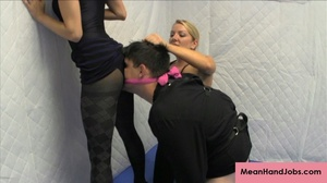 Two lusty bitches subdue a patient in a  - XXX Dessert - Picture 7