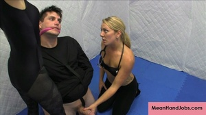 Two lusty bitches subdue a patient in a  - XXX Dessert - Picture 9