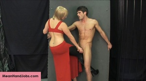 Lovely blonde bitch gives a hunky guy a  - XXX Dessert - Picture 8