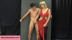 Lovely blonde bitch gives a hunky guy a  - XXX Dessert - Picture 9