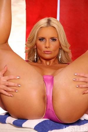 Busty horny blonde MILF enjoys hard ridi - XXX Dessert - Picture 2