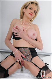 lusty alluring mature beauty