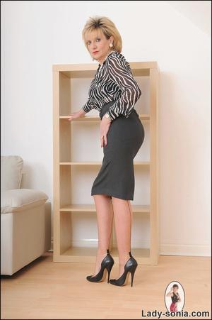 Lovely slutty lady boss reveals her horn - XXX Dessert - Picture 1