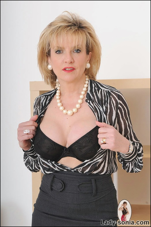 Lovely slutty lady boss reveals her horn - XXX Dessert - Picture 5
