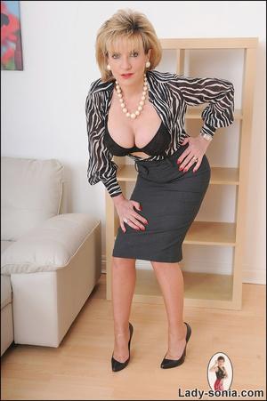 Lovely slutty lady boss reveals her horn - XXX Dessert - Picture 6
