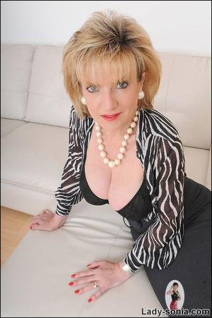 Lovely slutty lady boss reveals her horn - XXX Dessert - Picture 7