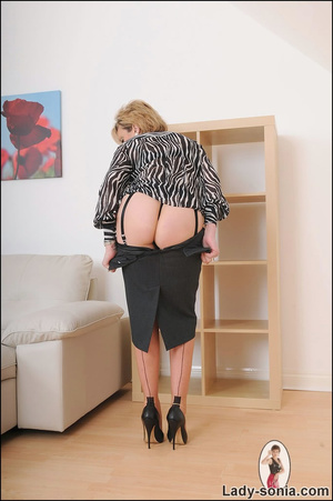 Lovely slutty lady boss reveals her horn - XXX Dessert - Picture 9