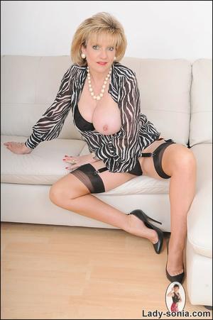 Lovely slutty lady boss reveals her horn - XXX Dessert - Picture 12