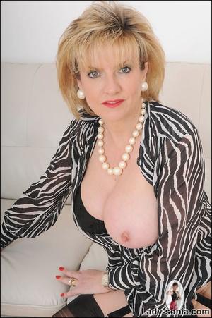 Lovely slutty lady boss reveals her horn - XXX Dessert - Picture 13