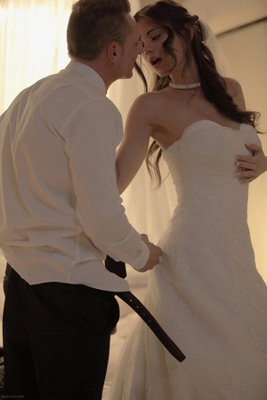 Gorgeous bride fucking with her handsome - XXX Dessert - Picture 7