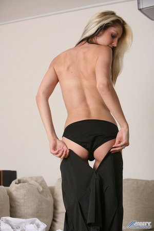 Hot blonde students Yazmin wearing lovel - XXX Dessert - Picture 10