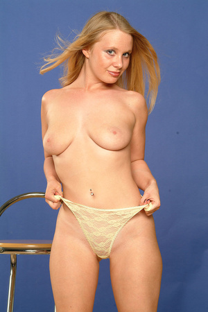 Big-titted blonde babe is ready to take  - XXX Dessert - Picture 9
