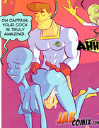 Superhero uses his super powers to make women quiver with desire