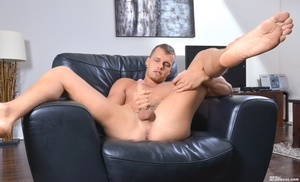 Sexy lean guy strips and shows what's in - XXX Dessert - Picture 9