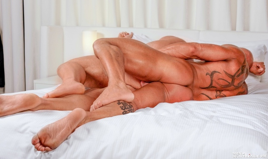 Two lovely large beefy hunks enjoy each oth - XXX Dessert - Picture 11