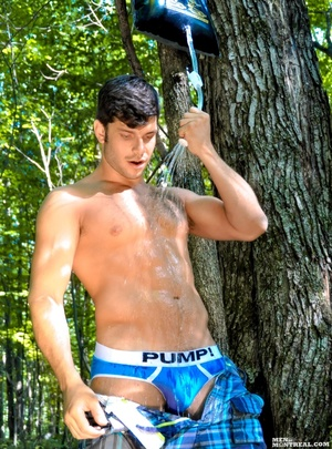 Temperatures are rising with this hunk o - XXX Dessert - Picture 4