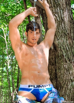 Temperatures are rising with this hunk o - XXX Dessert - Picture 5