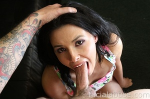 Seductive brunette bitch gets center sta - XXX Dessert - Picture 5