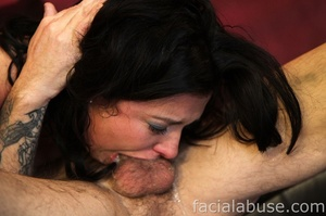 Lusty brunette bitch comes back for more - XXX Dessert - Picture 8