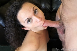 Hot curly brunette chick couldn't keep a - XXX Dessert - Picture 4
