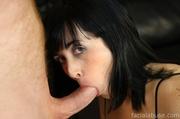 sexy innocent brunette gets