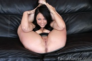 chubby whore gets swallow