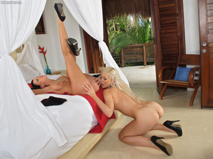 Two very sexy sluts have a lovely time t - XXX Dessert - Picture 16