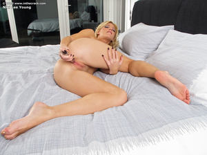 Beautiful blonde whore shows what her pu - XXX Dessert - Picture 13