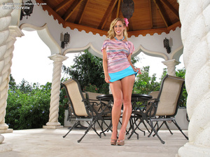 Lovely hot blonde leaves nothing to the  - XXX Dessert - Picture 1