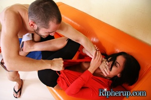Nasty Clair swallows hot cum after rude  - XXX Dessert - Picture 3